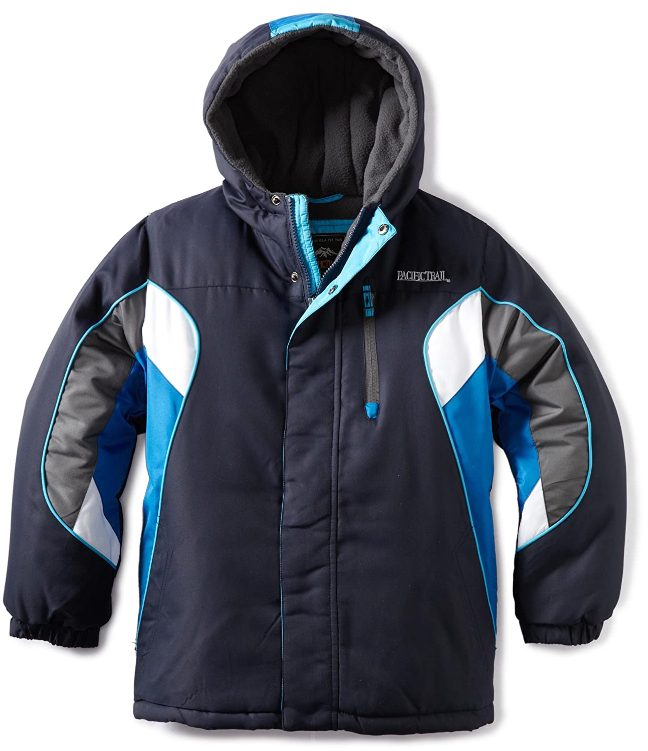154a09084a5 Jackets & Coats Pacific Trail Big Boys Heavy Weight Colorblocked Plaid Jacket  Pacific Trails Outerwear 2F2447B5 ...