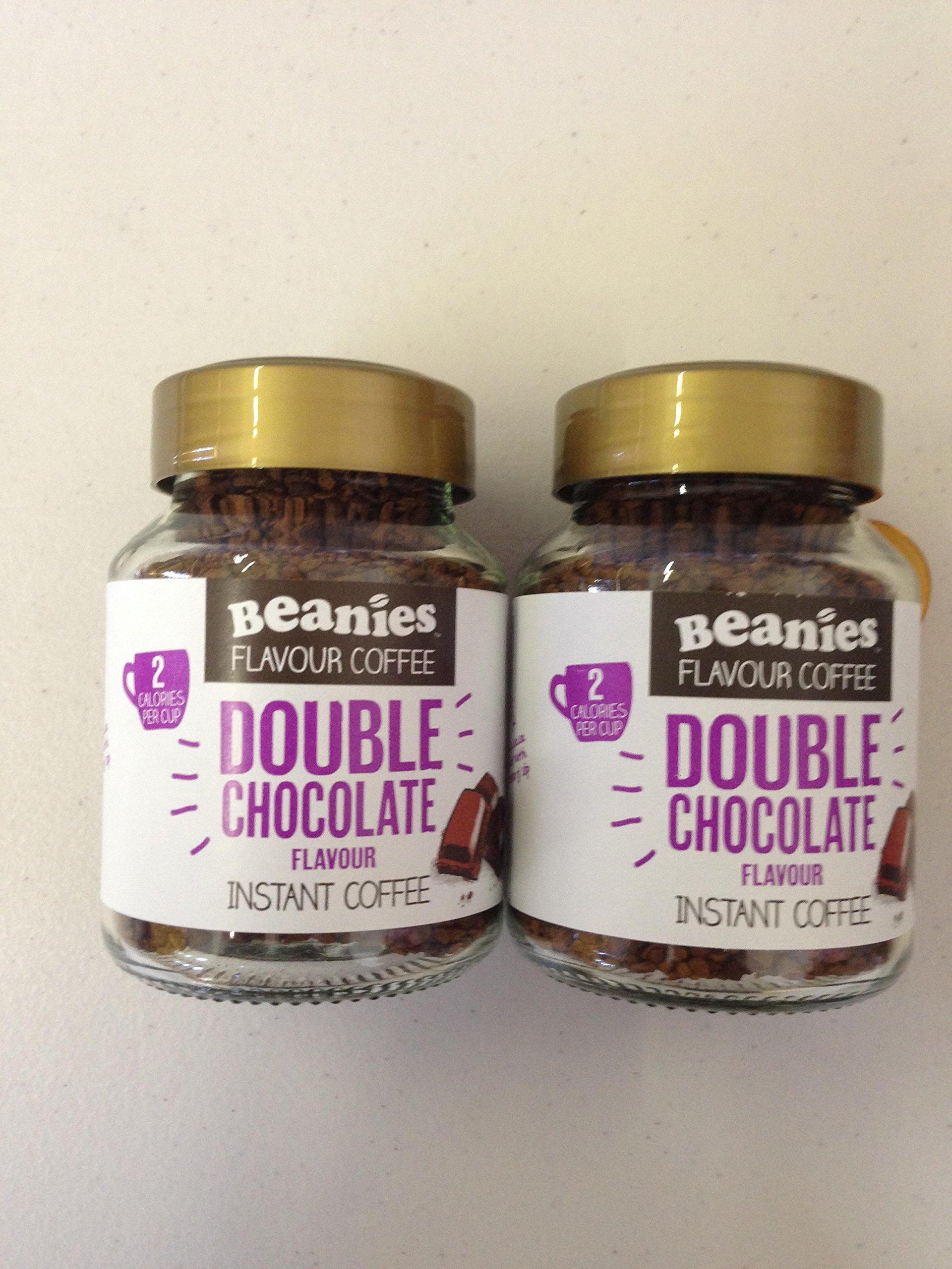 Beanies Double Chocolate 2 x 50g Jars
