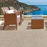 Tapis casa pura® pour intérieur et extérieur Verona | tailles diverses | au mètre - matière très résistante, facile d'entretien | 60x150cm