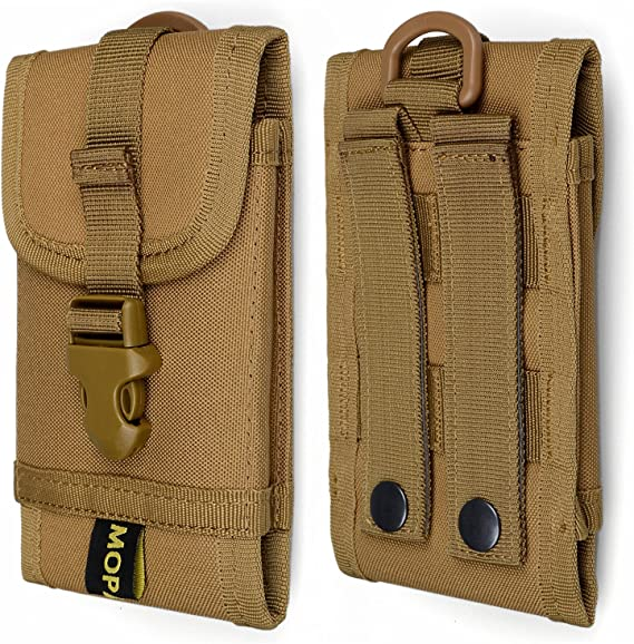 Military Molle Outdoor Army Hook Loop Belt Pouch Mobile Phone Cover Case