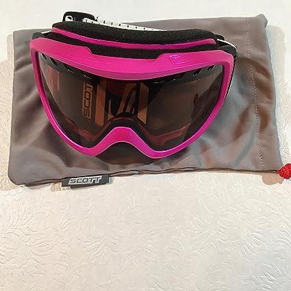 Amazon.com : Scott Cartel Goggle Pink/Amp Lens : Sports ...