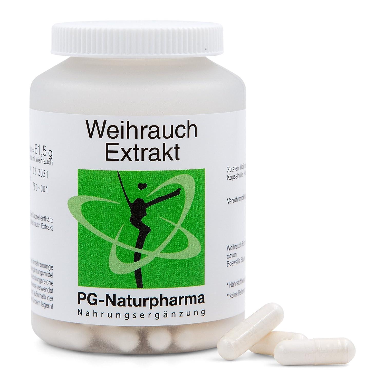 Extracto de Boswellia Serrata puro, veganas, Incienso, 120 cápsulas cada una con 450 mg de extracto de Boswellia Serrata, las cápsulas de incienso de dosis ...