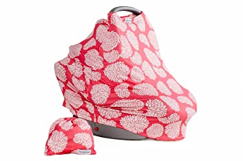 Baby Car Seat Canopy Floral