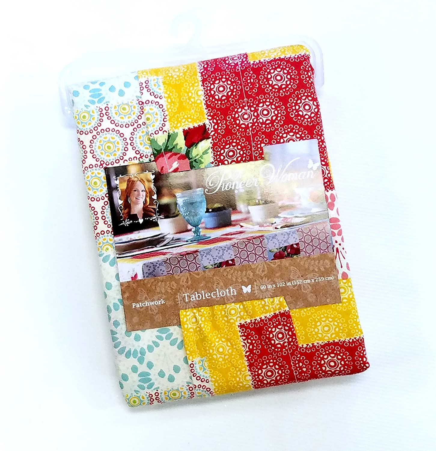 Amazon Pioneer Woman Tablecloth Patchwork 60 X 102 Vintage
