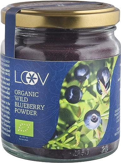 Arándano Azul Silvestre Orgánico en Polvo (Wild Blueberries), 100 ...