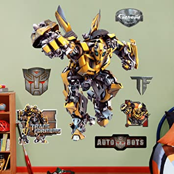 Fathead Wall Decal, U0026quot;Transformers Bumble ...
