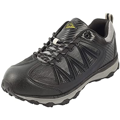 Amazon.com  Safety Toe Athletic Shoes - Trainer Style 509f43b2453