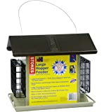 Stokes Select Large Hopper Bird Feeder with Two Suet Cake Holders, 6lb Seed Capacity