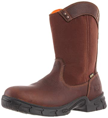 Timberland PRO Men's Excave Wellington Soft Toe Work Boot,Brown,7.5 ...