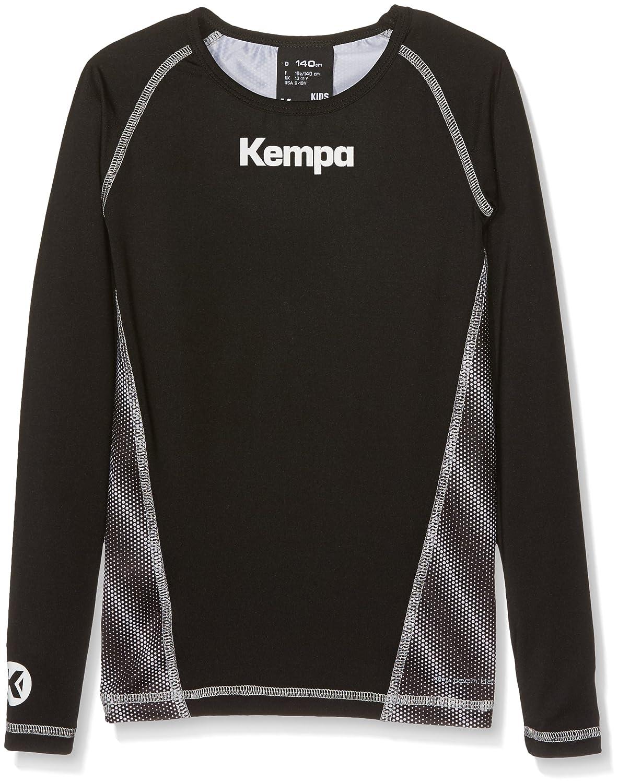 TALLA 128.0. Kempa Attitude Longsleeve Camiseta de Entrenamiento, Hombre