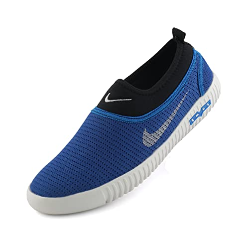 ad22b7385a7f REDFOOT AORFEO Blue Unisex Casual Shoes Sneakers for Men and Women No Lace  Casuals CASUAL35  Buy Online at Low Prices in India - Amazon.in