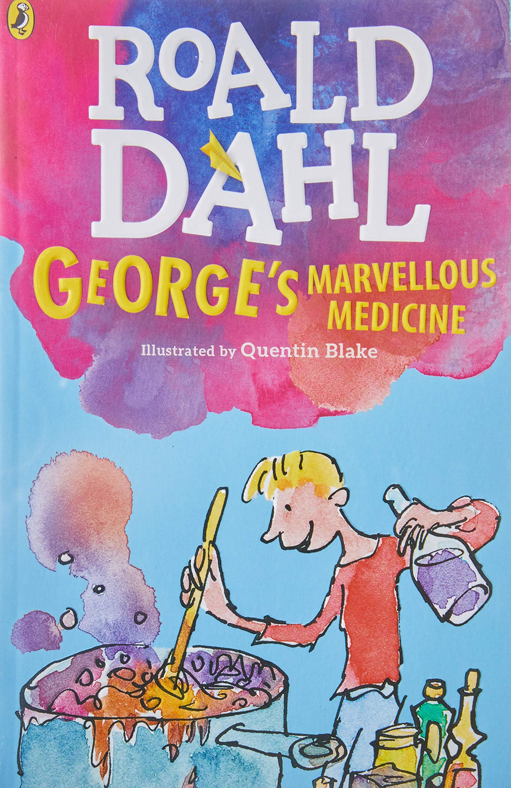 George's Marvellous Medicine (Dahl Fiction): Amazon.co.uk: Dahl ...