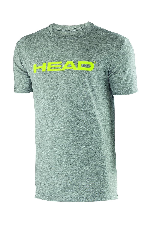 Head Ivan - Camiseta de Tenis para Hombre, Color Gris (Grey/Lime), Talla UK: Double Extra Large: Amazon.es: Deportes y aire libre