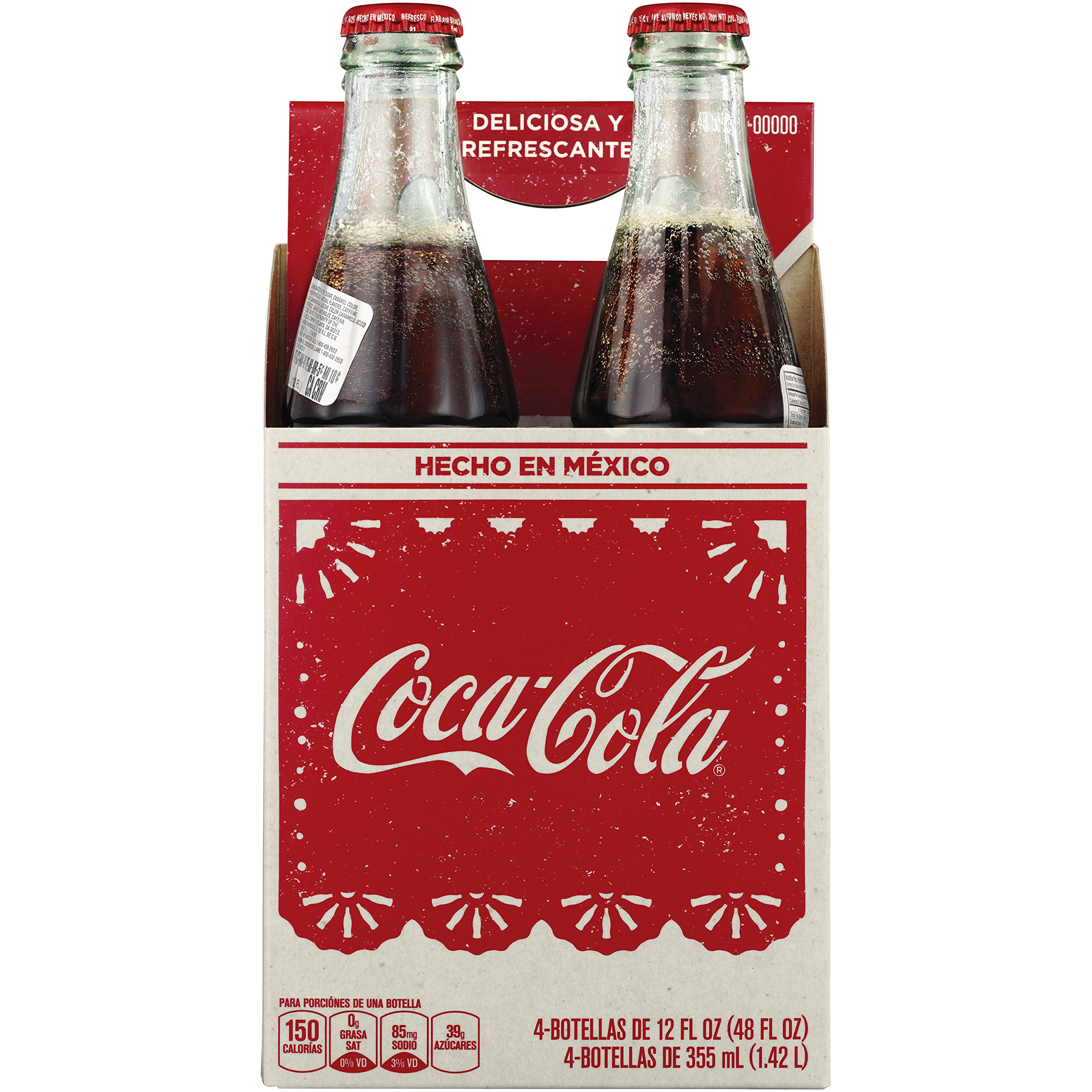 Coke De Mexico Mexican s, 12 Fl Oz (pack of 4)