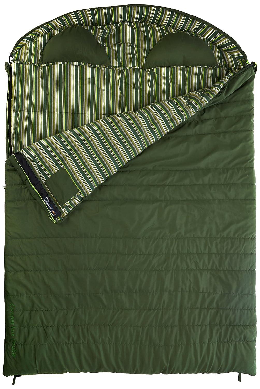Outwell Erwachsene Schlafsack Camper Lux Double, Green, 235 x 170 cm, 230083