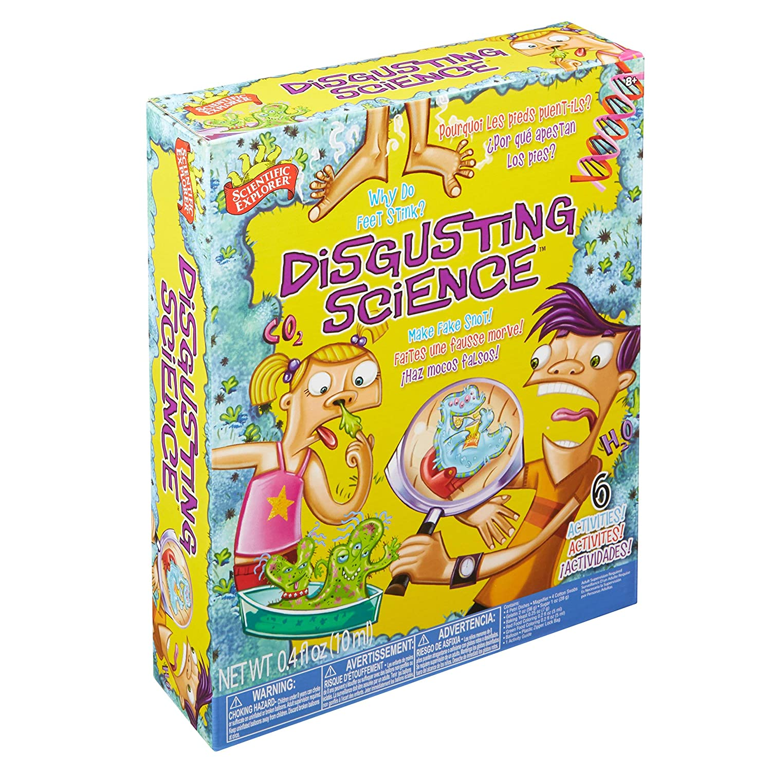 Disgusting Science-Best science Kits for kids