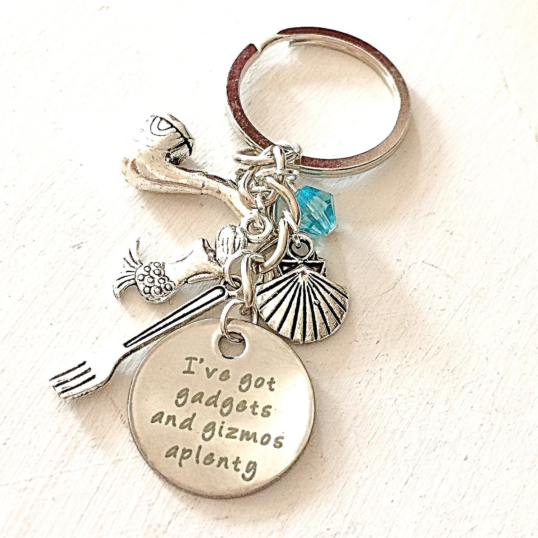 Ariel Inspired Little Keyrinng I/'vegot gadgets and gizmos aplenty Little Mermaid