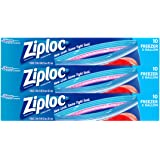 Ziploc Freezer Bags, 30 Count