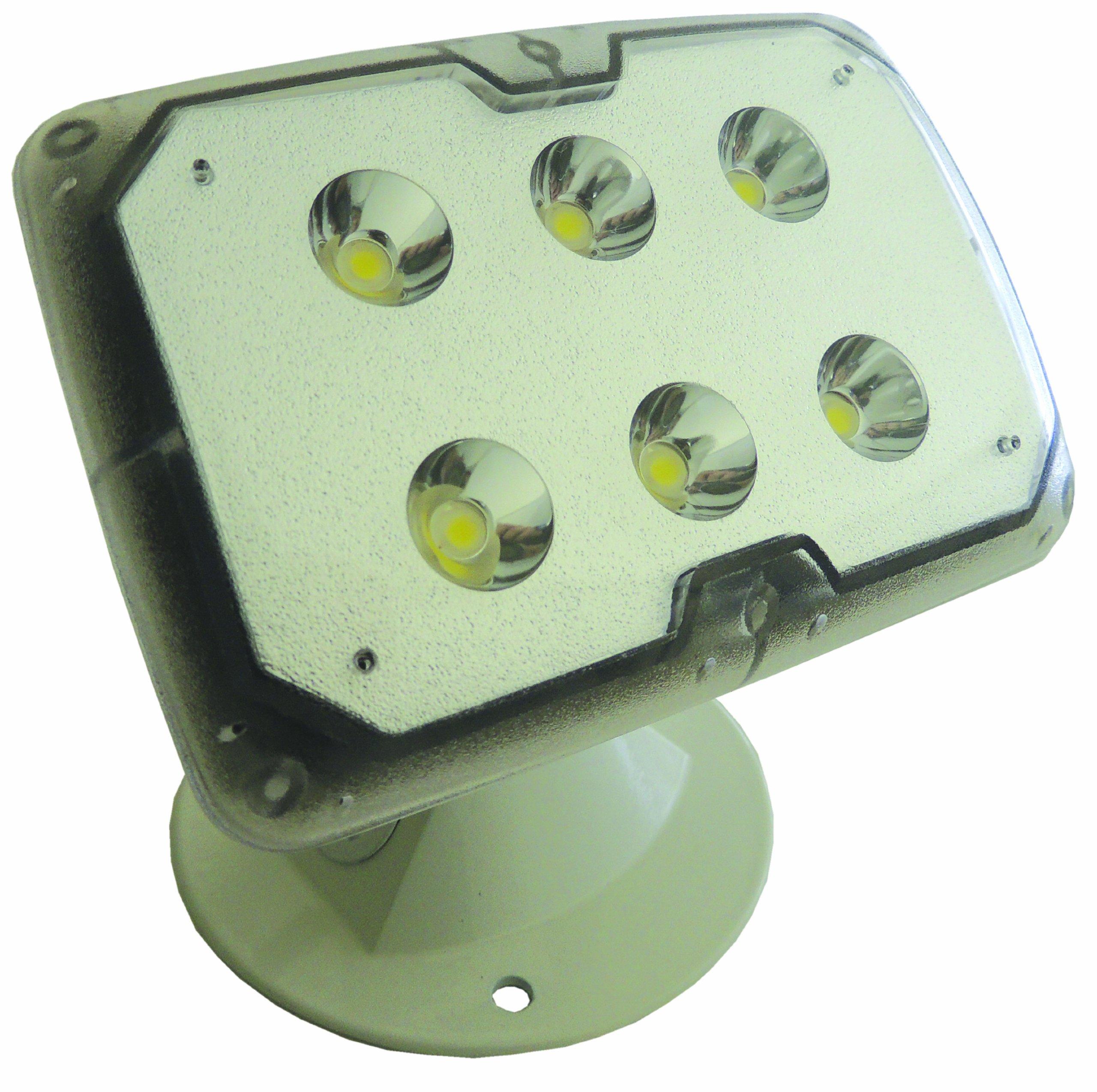 Lumateq LL51-WHA-110-00 LED Security Light, 6-watt, White
