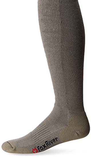 4476d385f Amazon.com: Fox River Adult Fatigue Fighter Over-the-Calf Socks: Clothing