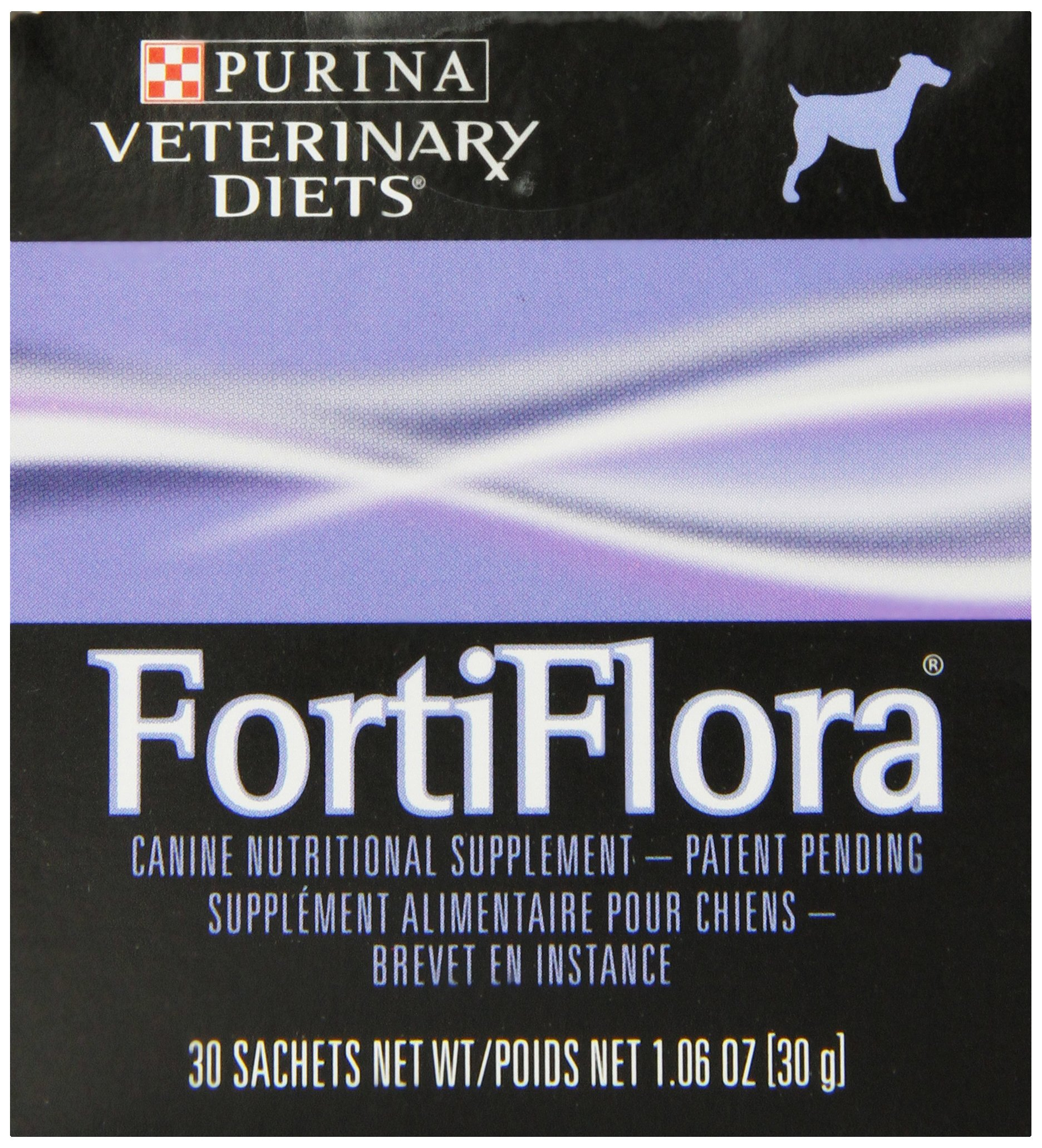 Purina Fortiflora Canine Nutritional Supplement Box (3 Pack), 30gm/90 Count