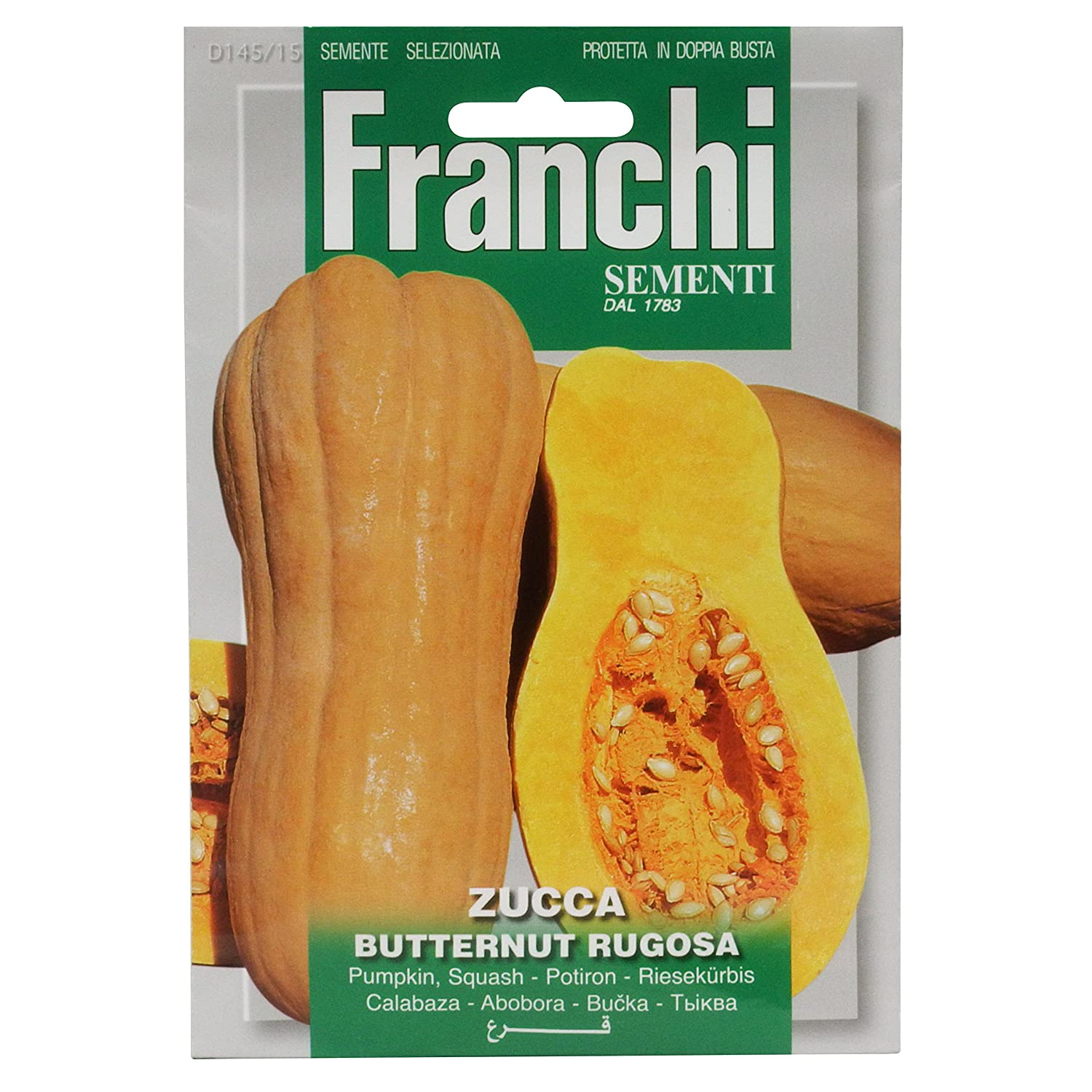 Seeds of Italy Ltd Franchi Courge musqu/ée rugueuse