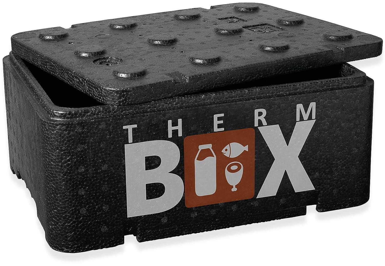 Thermobox Styropor Kühlbox Transport Warmhaltebox  51x 35x 36 cm 2,5 mit Karton