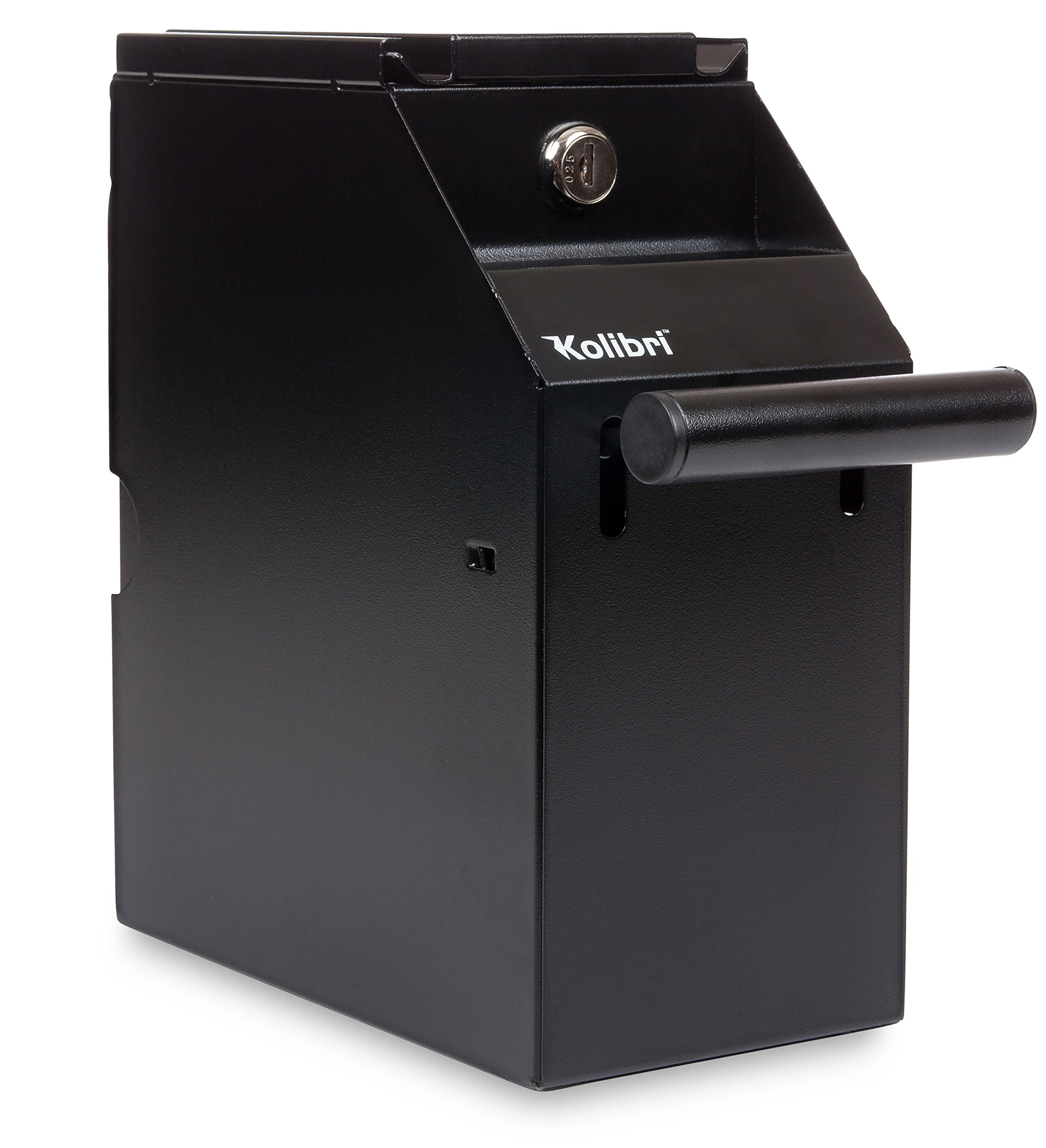 Kolibri Point-of-Sale Drop Safe with All-Steel Construction, Installs Under Counter