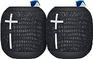 Ultimate Ears Wonderboom 2 - Paquete de 2 Unidades, 2, Negro