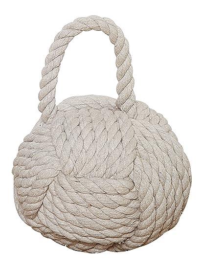 Creative Co Op DE1586 Nautical Rope Knot Door Stop
