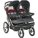 Baby Trend Navigator Double Jogger Stroller, Baltic