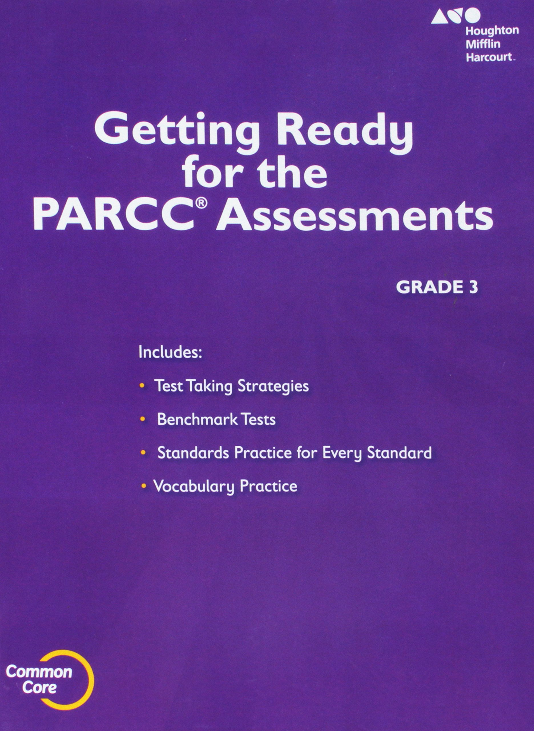 Go Math!: PARCC Test Prep Student Edition Grade 3