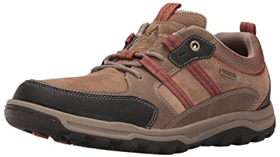 Rockport Men's Trail Technique Waterproof 3-Eye Walking Shoe- New ...