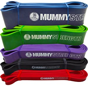 MummyStrength Resistance Bands for Men and Women