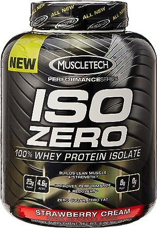 Muscletech Iso Zero Performance 2,27 kg Fresa