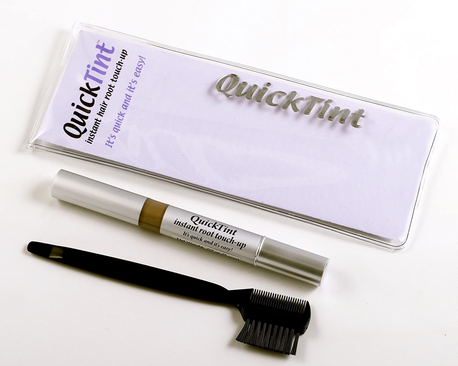 Amazon.com : QuickTint Instant Hair Root Touch-Up - Rich Black ...