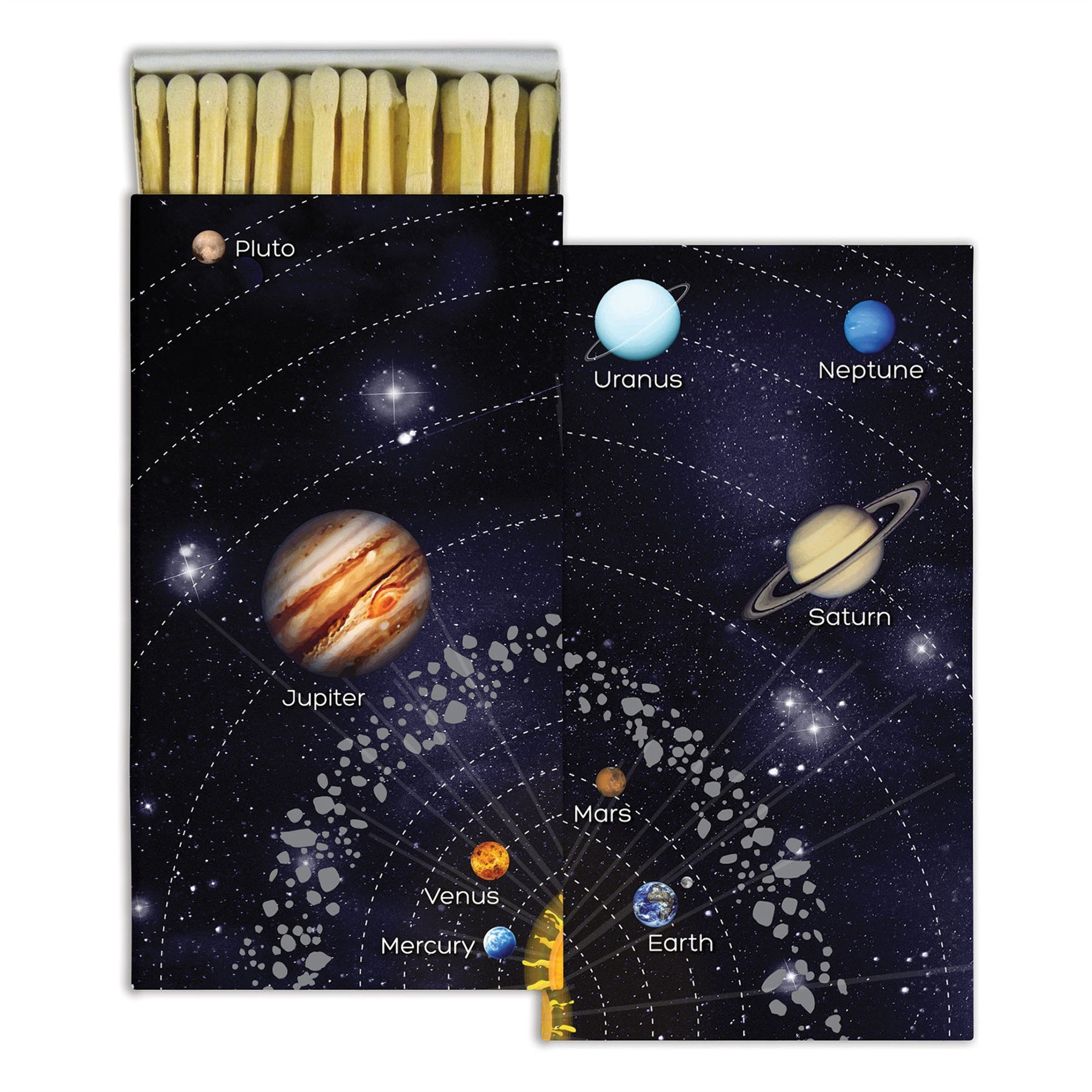 Solar System Planets Matches | Set of 10 Outer Space Astronomy