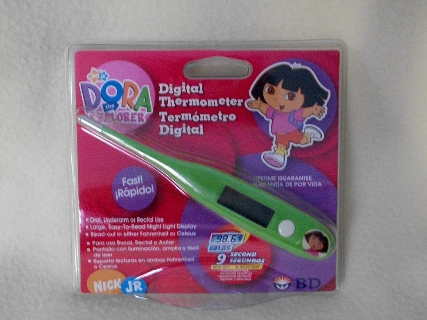 Amazon.com: Dora the Explorer Digital Thermometer: Health & Personal Care