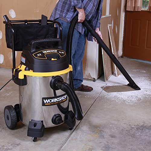 For A Top Notch Wet/dry Commercial Vacuum, Look No Further From The  Workshop WS1600SS. This Commercial Vacuum Combines Power, Durability And  Mobility All In ...