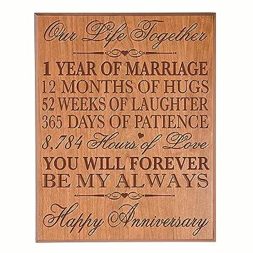 Amazonde 1 Hochzeitstag Geschenke Für Ihre Ihn Paar