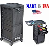 G3-KD Salon Rollabout Trolley Cart Lockable Made in USA by Dina Meri