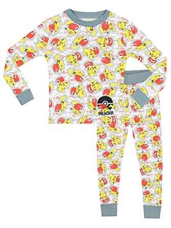 Pokemon Boys Pokemon Pajamas Size 12