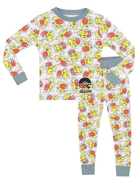 5c3bec28fc91 Pokemon Boys  Pokemon Pajamas Size 12  Amazon.ca  Clothing   Accessories