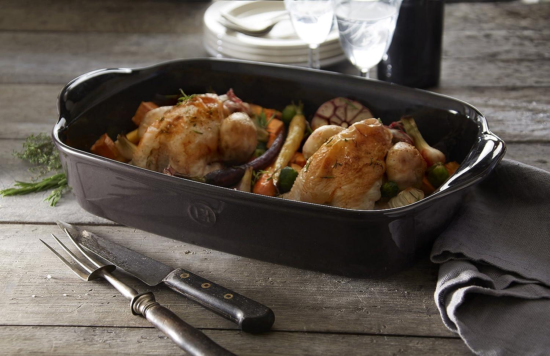 16.5 x 10.6 Flouro Emile Henry 119654 France Ovenware Ultime Rectangular Baking Dish