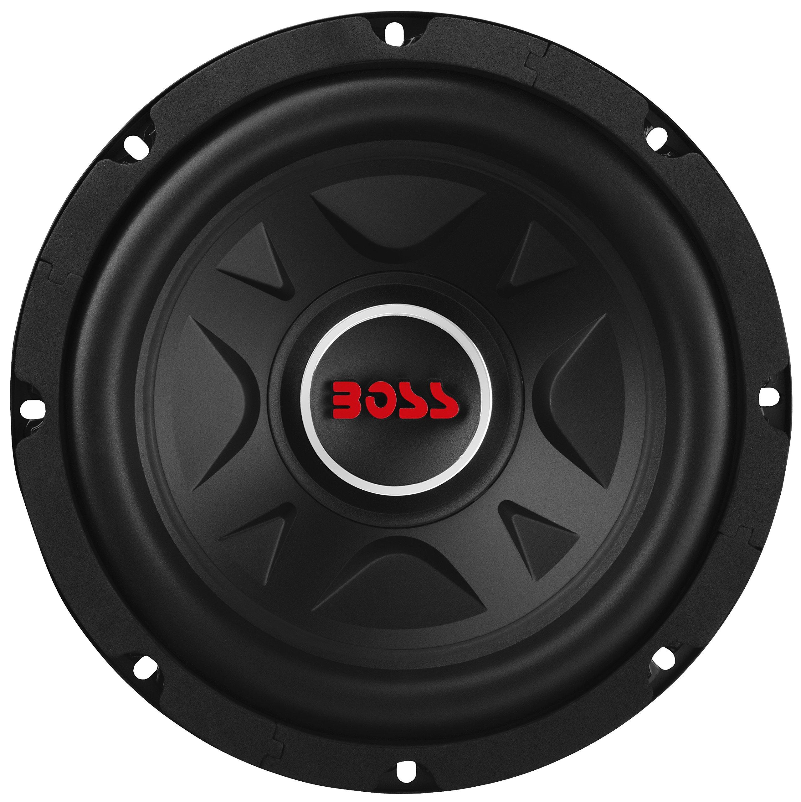 BOSS Audio Elite BE8D 8'' Dual Voice Coil Subwoofer, 600 Watts Max