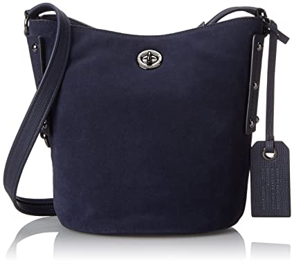 0bf9d0085bc8 Amazon.com  Marc by Marc Jacobs C Lock Suede Bucket Bag