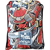 Ronin Gi Sports Bag - Oni Bushi-Draw String Backpack – Contact Sports Rucksack for BJJ, Karate, Judo, TKD, Kempo Gis…