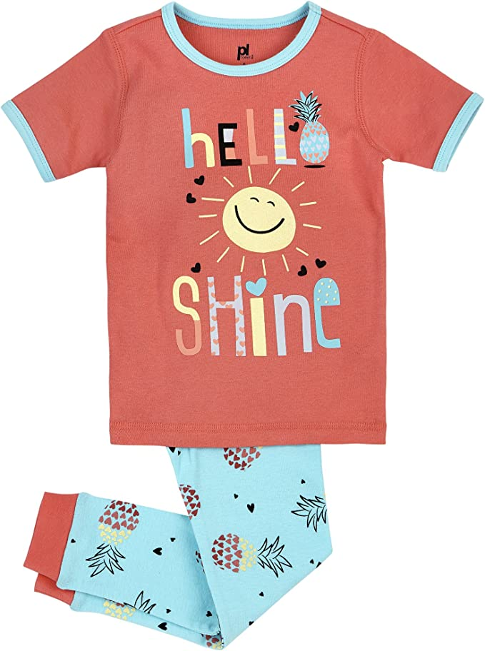 Petit Lem Big Girls Print Pajama