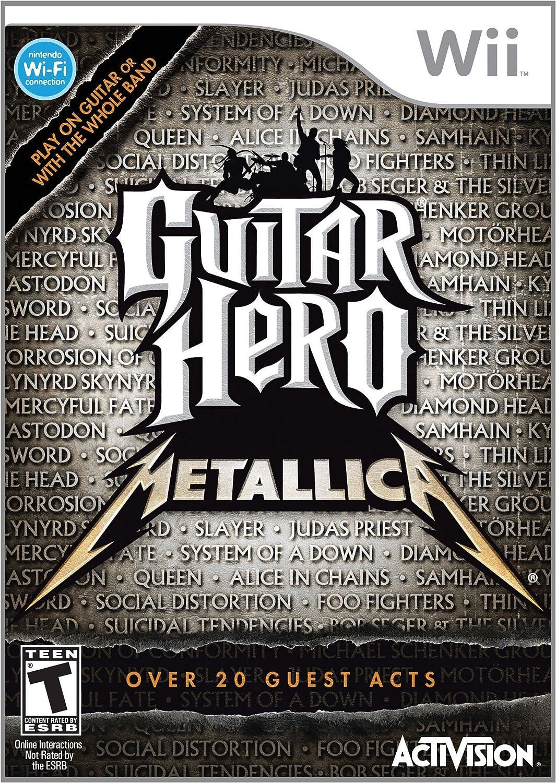 Guitar Hero Metallica [Importación italiana]: Amazon.es: Videojuegos