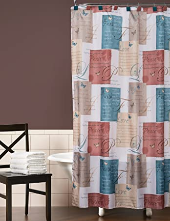 Saturday Knight Cherish Shower Curtain